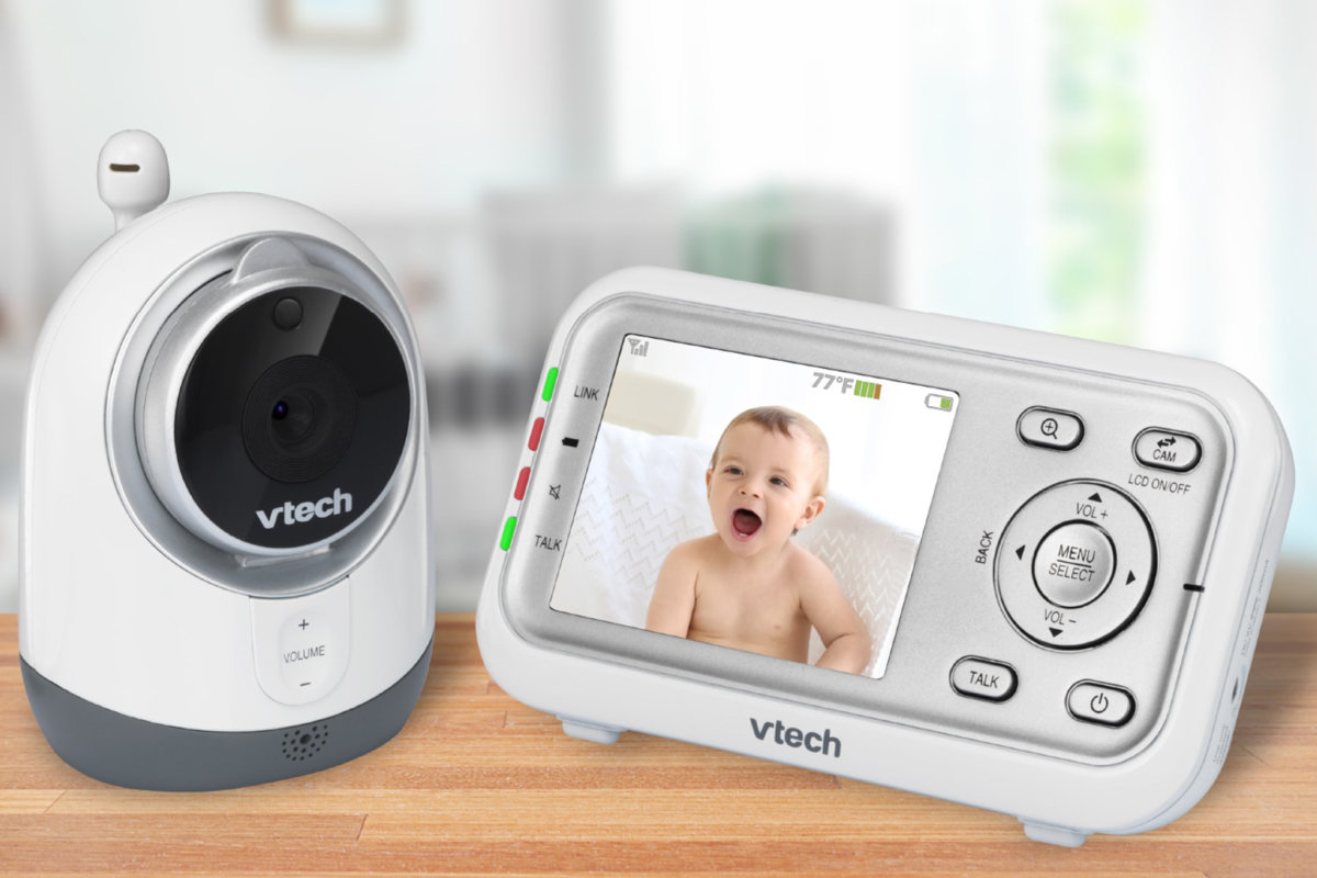 A more in-depth review of the 5-inch Moony Baby screen which is equipped with two good quality cameras