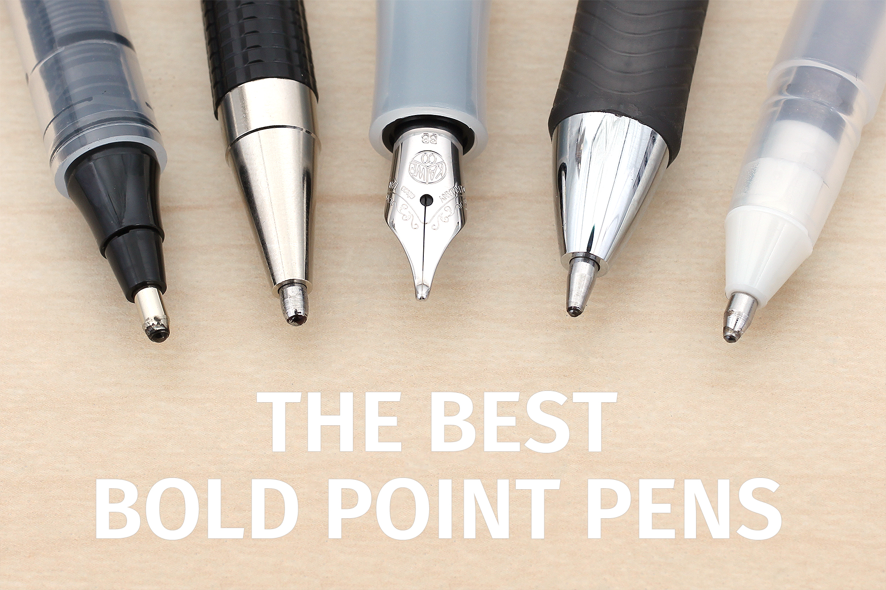 Knowing The Advantages Of A Ballpoint Pen