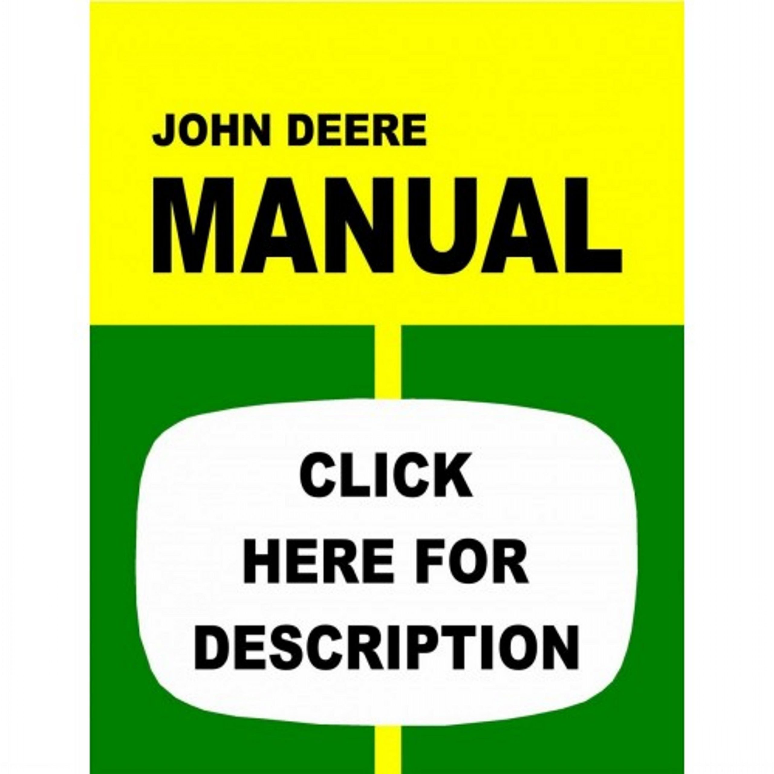 Make Your Vehicle Long Life With Genuine Service Of John Deere Manuals